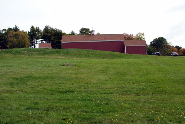 Barn at Fruitlands museum